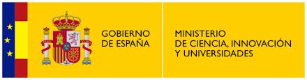 Logo Ministerio de Ciencia, Innovación y Universidades.